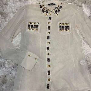Beautiful embellished Shirt (Italian)